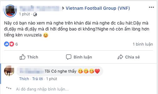 Dậy mà đi hỡi đồng bào ơi, câu hát được chia sẻ liên tục sau trận đấu giữa Việt Nam - Iran - ảnh 6