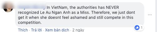 Lê Âu Ngân Anh và chuyện có 1-0-2 tại Hoa hậu Liên lục địa 2018: Bị fan Việt vào fanpage quốc tế tố thi chui - Ảnh 4.