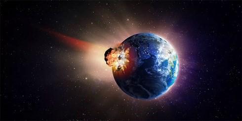 Tiểu hành tinh khổng lồ đã gây ra nhiều loại thảm họa chồng chéo lên Trái đất, dẫn đến đại tuyệt chủng - (ảnh: SHUTTERSTOCK)