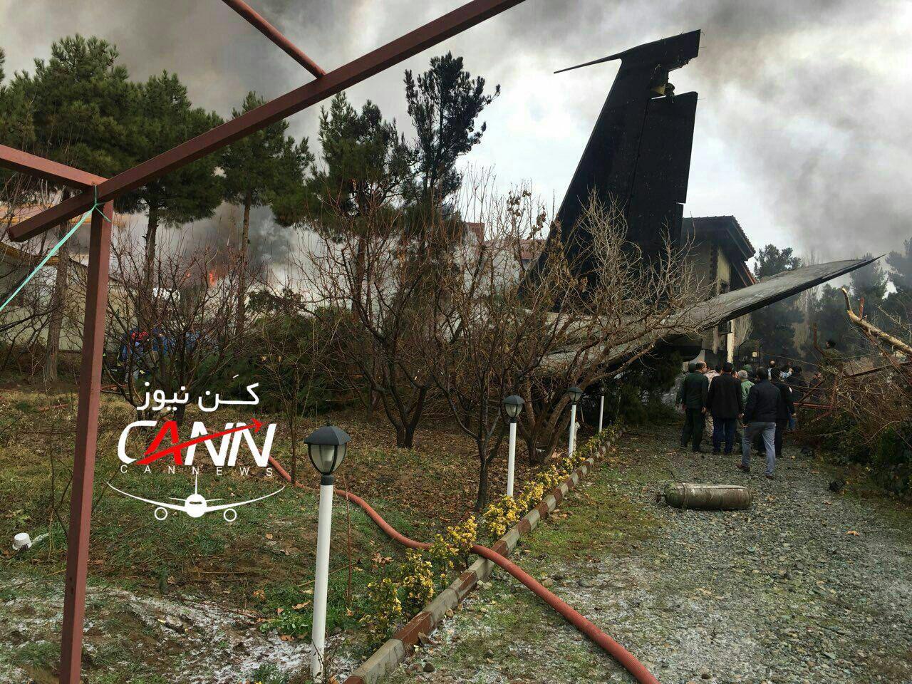 [NÓNG] Rơi gần thủ đô, Boeing-707 của quân đội Iran bốc cháy, chỉ 1 người sống sót - Ảnh 2.