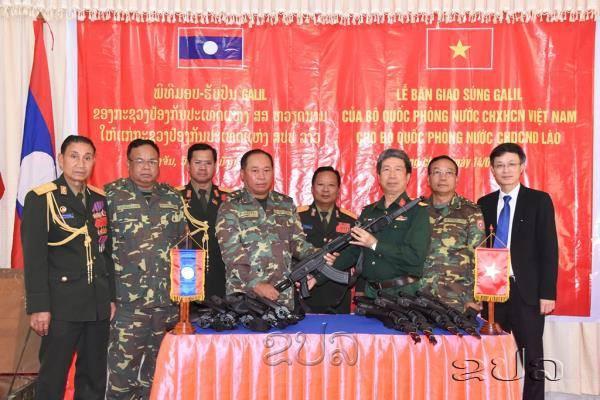 Bàn giao súng Galil ACE cho Lào: Vũ khí Việt Nam đã sẵn sàng xuất khẩu - Ảnh 2.