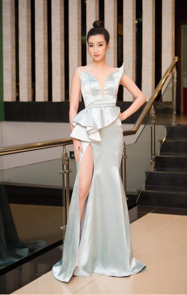 Điều gì xảy ra khi bom gợi cảm Phương Khánh và thần tiên tỉ tỉ Đỗ Mỹ Linh mặc chung váy? - Ảnh 6.