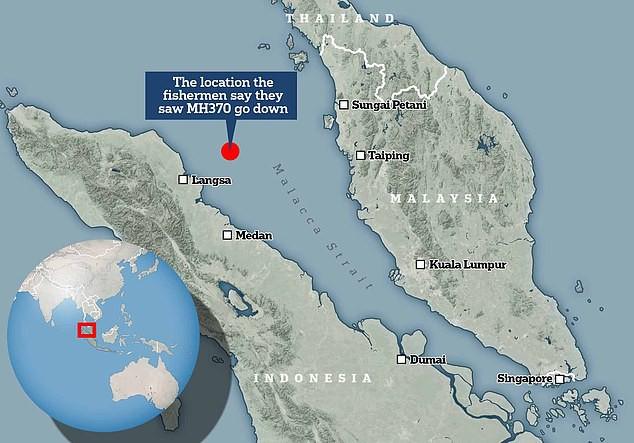Ngư dân Indonesia khẳng định tận mắt thấy MH370 lao xuống biển, sẵn sàng đưa bằng chứng - Ảnh 2.
