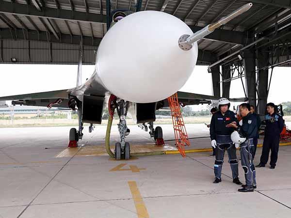 """Không quân Việt Nam làm chủ """"Hổ mang chúa"""" Su-30MK2 - ảnh 9"""