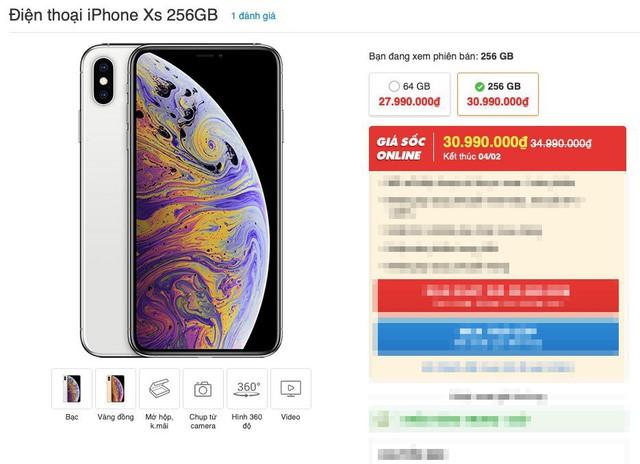 iPhone giảm giá sốc cận Tết - Ảnh 1.