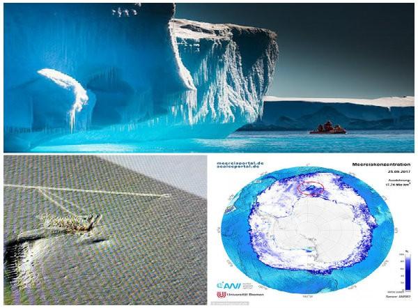 Những hiện tượng kỳ lạ tại Nam Cực khiến nhà khoa học bối rối - Ảnh 1.
