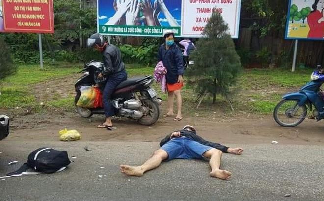 Xe container lao vào đoàn người dừng đèn đỏ, nạn nhân nằm la liệt, 6 người chết - Ảnh 2.