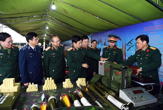 Năm 2018: Hoàn thành xuất sắc nhiều nhiệm vụ quân sự, quốc phòng - Ảnh 1.