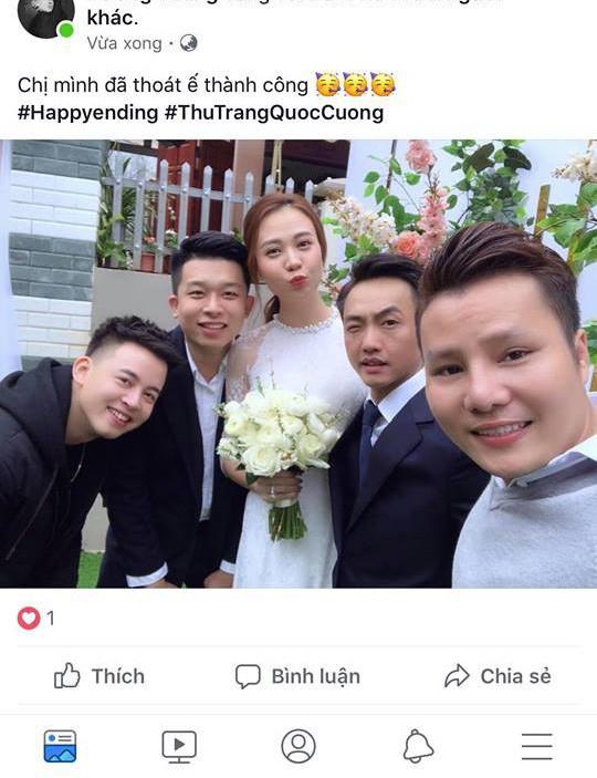 Lộ ảnh ăn hỏi của Cường Đô La và Đàm Thu Trang - Ảnh 2.