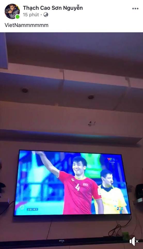 Hà Tăng, HHen Niê... đồng loạt chúc mừng đội tuyển Việt Nam giành vé vào tứ kết Asian Cup 2019 - Ảnh 6.