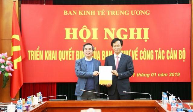 Chân dung 2 Phó Trưởng Ban Kinh tế Trung ương thế hệ 7X - Ảnh 1.