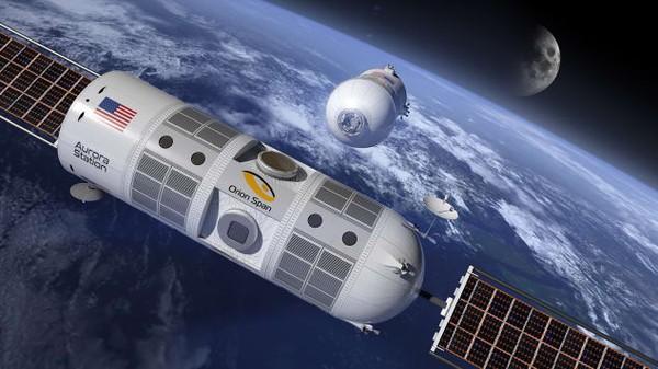 Chiêm ngưỡng khách sạn cao cấp đầu tiên trong không gian - Ảnh 2.