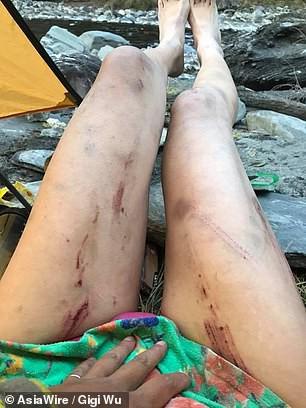 Mặc bikini leo núi, cô gái chết cóng sau 28 giờ mắc kẹt - Ảnh 4.