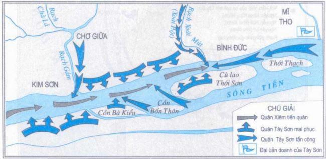 Tây Sơn lật đổ chính quyền họ Nguyễn và đánh tan quân xâm lược Xiêm - Ảnh 2.