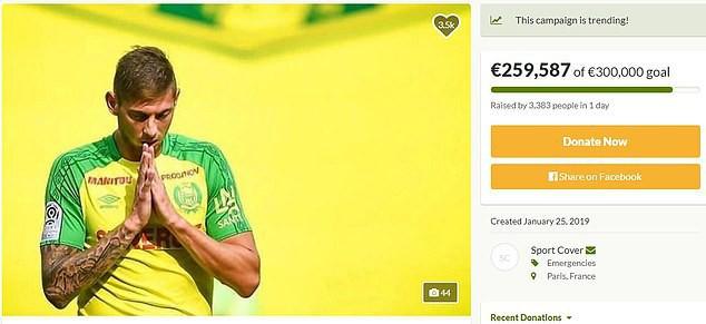 Messi cùng dàn sao bóng đá thế giới quyên góp gần 8 tỉ đồng trong 1 ngày, hi vọng tìm được cầu thủ mất tích - Ảnh 1.