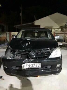 Truy đuổi hơn 10 km ô tô du lịch tông chết cô gái rồi bỏ chạy - Ảnh 2.
