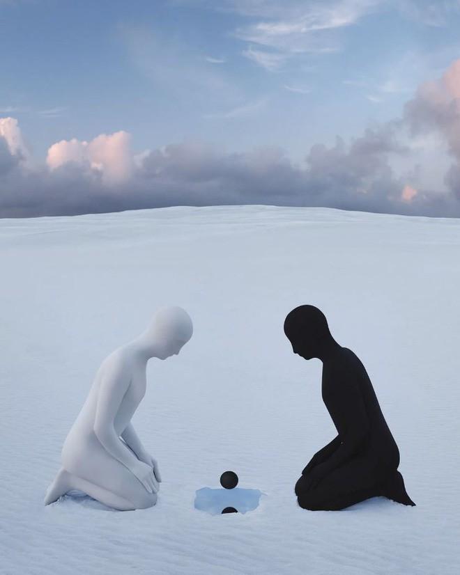 Nhìn cuộc đời qua con mắt của người trầm cảm với bộ ảnh siêu thực từ nghệ sĩ Gabriel Isak - Ảnh 3.