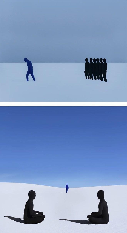 Nhìn cuộc đời qua con mắt của người trầm cảm với bộ ảnh siêu thực từ nghệ sĩ Gabriel Isak - Ảnh 4.