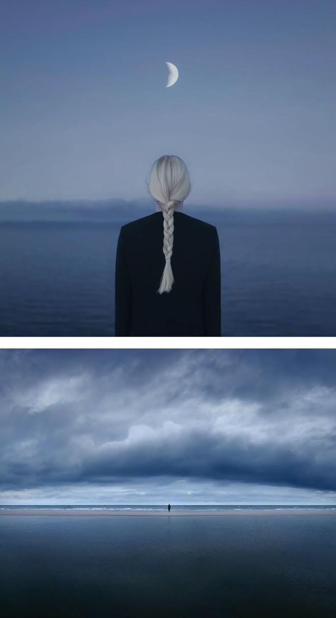 Nhìn cuộc đời qua con mắt của người trầm cảm với bộ ảnh siêu thực từ nghệ sĩ Gabriel Isak - Ảnh 7.