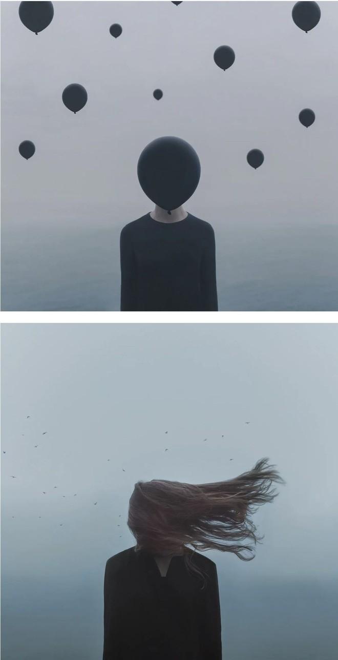 Nhìn cuộc đời qua con mắt của người trầm cảm với bộ ảnh siêu thực từ nghệ sĩ Gabriel Isak - Ảnh 9.