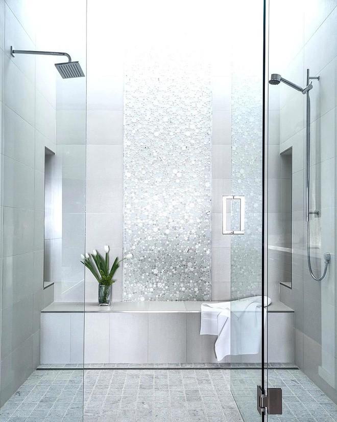 Cách thiết kế nhà tắm cực đẹp cho một năm mới vừa thoải mái lại hạnh phúc - Ảnh 6.