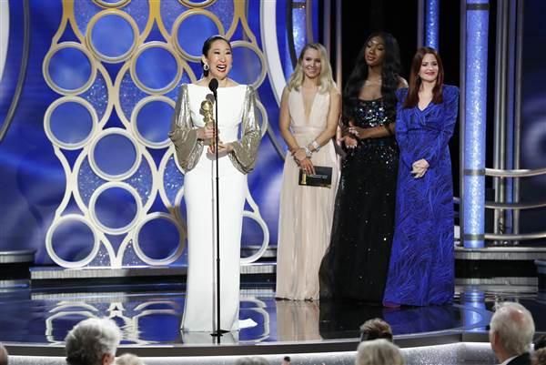 Quả Cầu Vàng 2019: Tác phẩm về huyền thoại nhạc rock đánh bại phim của Lady Gaga giành tượng vàng - Ảnh 6.