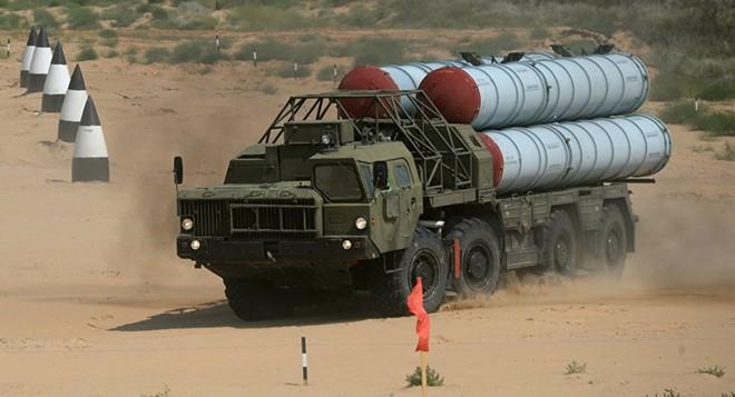 Tên lửa S-300 Syria mật phục: Chờ màn pháo hoa chết chóc chào đón F-16 Israel! - Ảnh 1.
