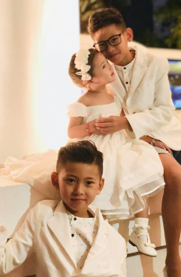 3 người con ruột của Hoa hậu Hà Kiều Anh và chồng đại gia có cuộc sống như thế nào? - Ảnh 3.