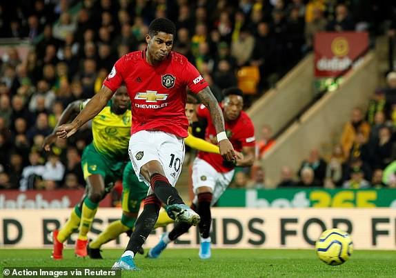 Vô duyên với 2 quả pen từ VAR, Man United vẫn bay cao trên BXH Premier League - Ảnh 4.