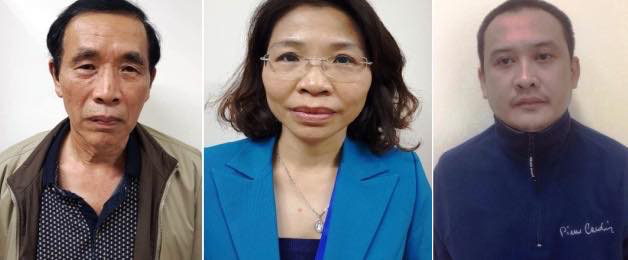 [NÓNG] Bắt tạm giam nguyên Phó Giám đốc Sở KH-ĐT Hà Nội và 2 bị can liên quan vụ Nhật Cường - Ảnh 1.