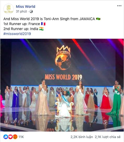 Chỉ cao 1m67, vì sao người đẹp Jamaica vẫn xuất sắc đăng quang Hoa hậu Thế giới 2019? - Ảnh 2.
