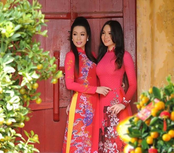 16 tuổi, con gái NSƯT Trịnh Kim Chi đã cao 1m72 và xinh đẹp như hot girl - Ảnh 6.
