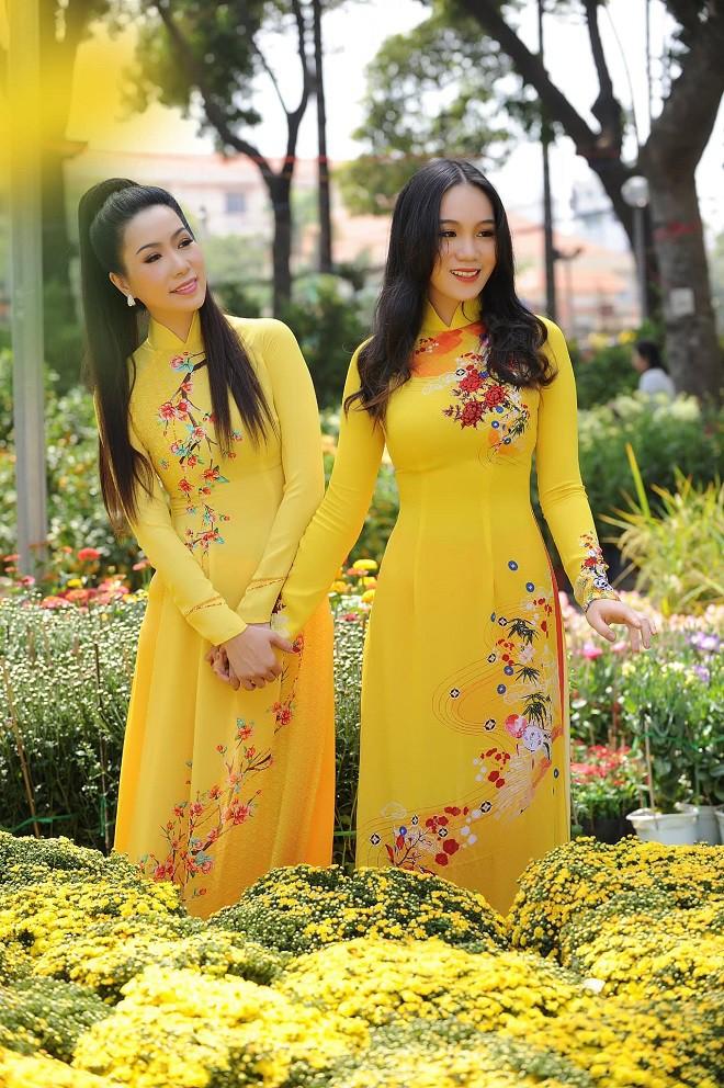 16 tuổi, con gái NSƯT Trịnh Kim Chi đã cao 1m72 và xinh đẹp như hot girl - Ảnh 3.