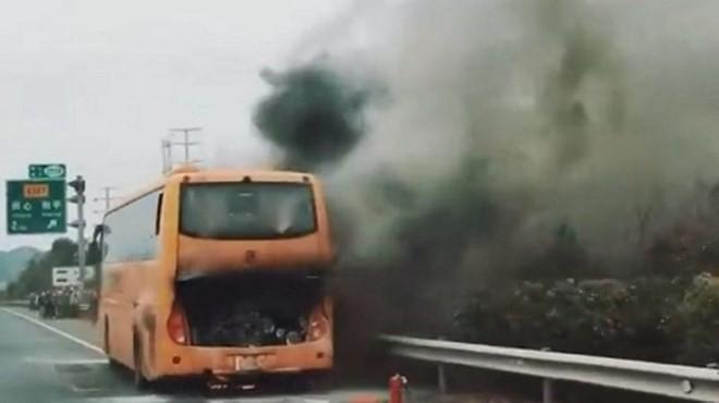 Trung Quốc: 42 du khách Hong Kong thoát chết trong vụ xe buýt phát nổ - Ảnh 1.