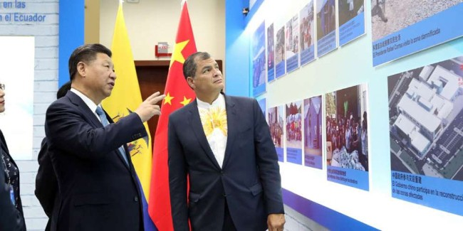 Trung Quốc bẫy nợ và bòn rút Ecuador bằng đập thủy điện khổng lồ - Ảnh 3.