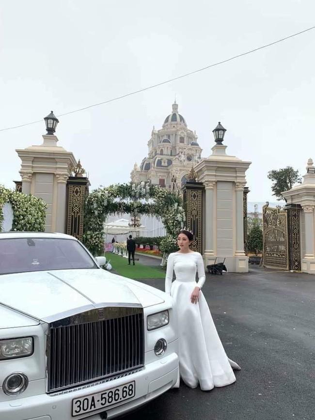 Rò rỉ hình ảnh xa hoa bên trong lâu đài 7 tầng của gia đình cô dâu xinh đẹp nổi tiếng Nam Định - ảnh 6