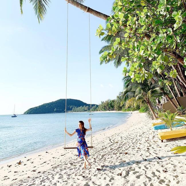 Cường Đô la đưa Subeo và Đàm Thu Trang đi du lịch, Hà Hồ cùng Kim Lý vi vu Thái Lan đầu năm - ảnh 2