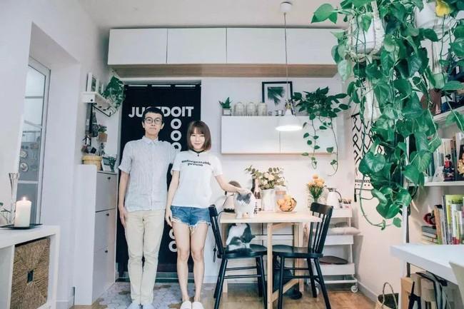 Cặp vợ chồng trẻ quyết biến nhà cũ 39m² thành tổ ấm thiết kế siêu thông minh và tiện ích - Ảnh 1.