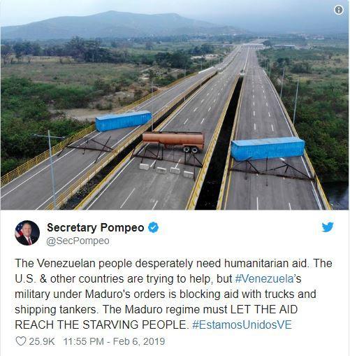 Cây cầu chưa từng hoạt động nói lên một sự thật khác về vụ TT Maduro chặn hàng viện trợ? - Ảnh 1.