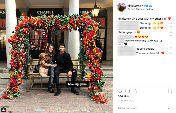 Cô gái Tây bất ngờ xoá ảnh và bỏ follow thiếu gia em chồng Hà Tăng trên Instagram, rộ nghi án đã chia tay - Ảnh 1.