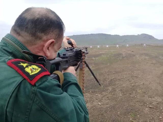 Đáng gờm dàn vũ khí cực mạnh của Cảnh sát Syria - ảnh 7