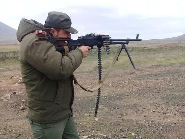 Đáng gờm dàn vũ khí cực mạnh của Cảnh sát Syria - ảnh 6