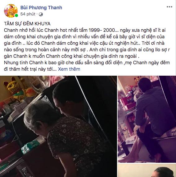 Phương Thanh gạt bỏ sĩ diện, công khai chuyện em trai chìm trong nghiện ngập  - Ảnh 2.