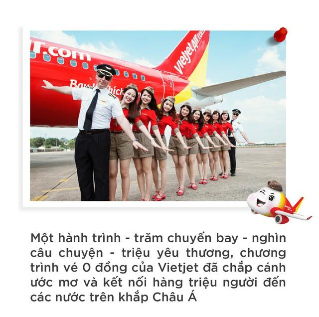 Vietjet: Hãng hàng không của người dân với vé 0 đồng - Ảnh 2.