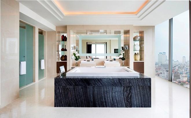 Trước thềm thượng đỉnh Mỹ-Triều: Phòng Tổng thống của Khách sạn JW Marriott có gì đặc biệt? - Ảnh 13.