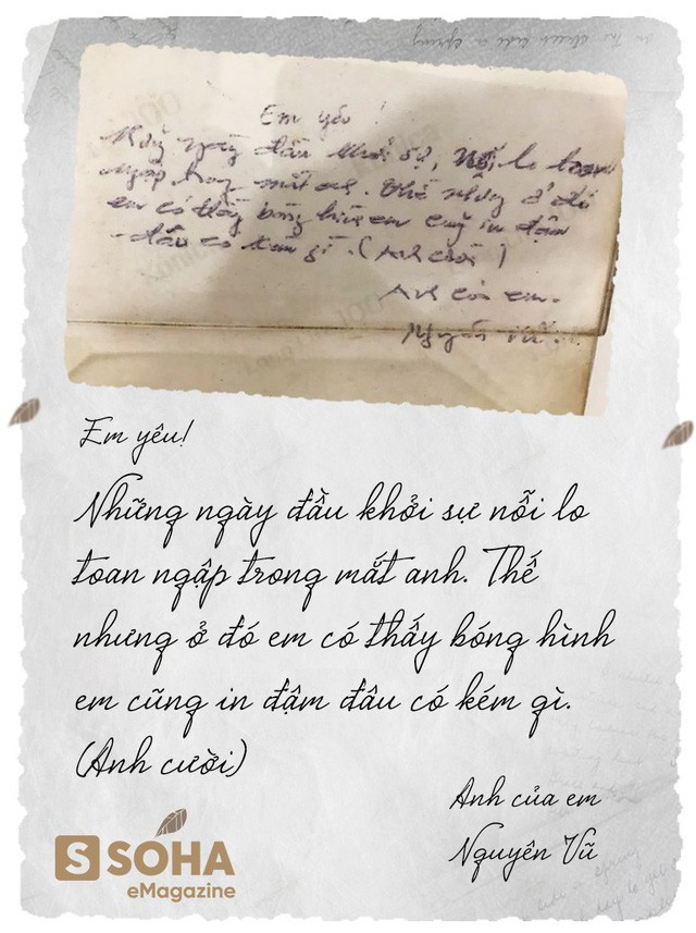 Bức thư tình mùi mẫn do chính tay Vua cà phê Trung Nguyên viết gửi cô nhân viên bưu điện Lê Hoàng Diệp Thảo ngày nào bất ngờ xuất hiện gây bão cộng đồng mạng - ảnh 1