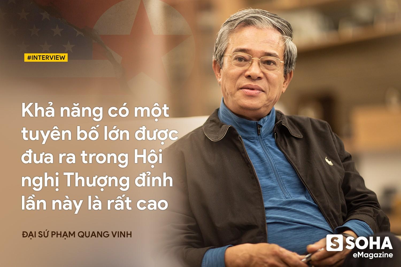 Đại sứ Phạm Quang Vinh: Khả năng có một tuyên bố lớn được đưa ra trong Thượng đỉnh Mỹ-Triều lần này là rất cao - Ảnh 9.