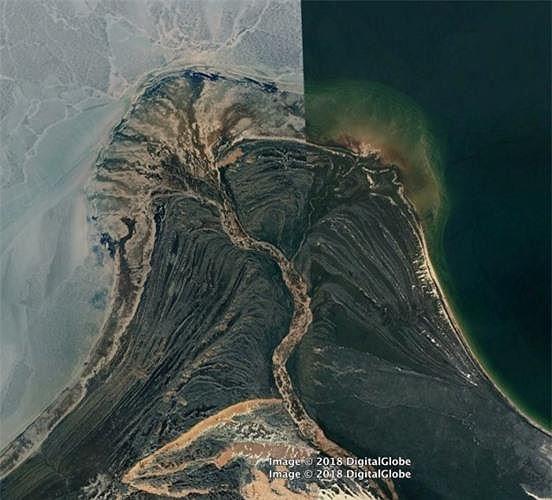 Bất ngờ với những bức ảnh thú vị tìm được trên Google Earth - Ảnh 15.