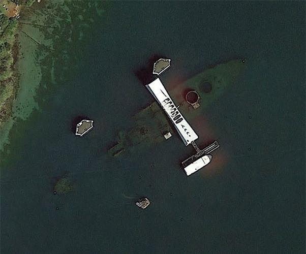 Bất ngờ với những bức ảnh thú vị tìm được trên Google Earth - Ảnh 3.