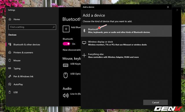 Toàn tập về cách sử dụng Bluetooth để kết nối điện thoại với máy tính chạy Windows 10 - Ảnh 5.